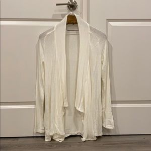 Splendid white cardigan size S made in USA